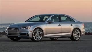 New 2019 Audi A4 Sedan - interior Exterior and Drive