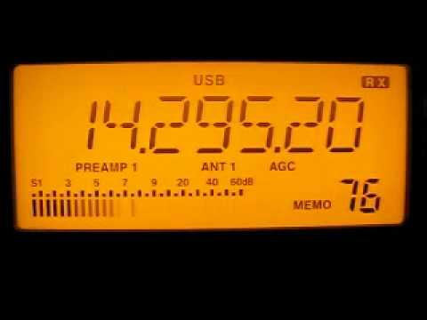 Radio Tajikistan 14295 kHz. 17.5.2012.