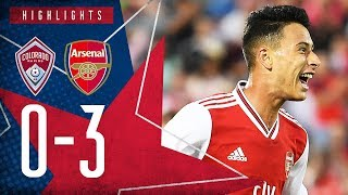 Martinelli's brilliant debut, plus Olayinka's screamer! 😱 | Colorado Rapids 0-3 Arsenal - Highlights
