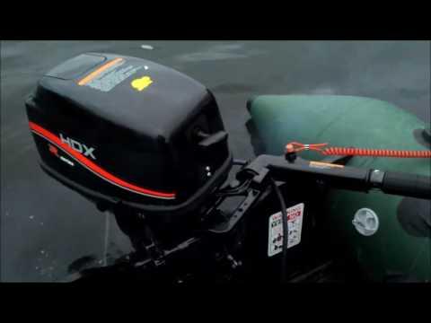 свист в лодочном моторе