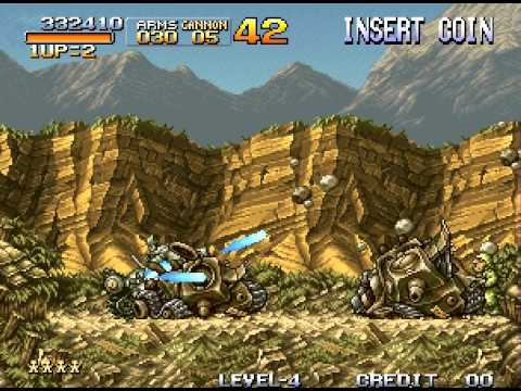 Metal Slug: Super Vehicle-001 Walkthrough Neo Geo