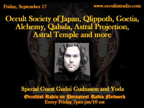 Occult Society of Japan, Qlippoth, Goetia and More on Occultist Radio