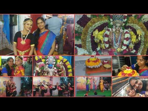 #Diml 5th day of bathukamma making best performance of kuchipudi kali mata ruoop