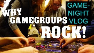 Game night vlog - our monthy game group