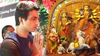 Bollywood Actor Sonu Sood's Durga Pooja 2016