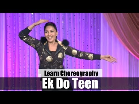 Madhuri Dixit dances to Ek Do Teen!