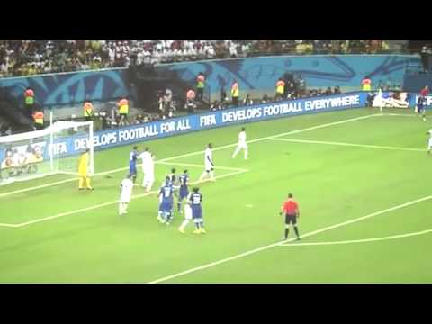 Andrea Pirlo vs England World Cup 2014 English Commentary HD 720p