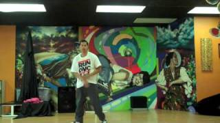 X popping/waving/tutting freestyle: Its like that - Run DMC