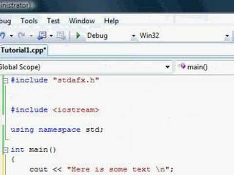 C++ Tutorial (6 updated 1) - Absolute n00b spoonfeed