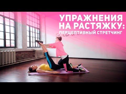 Упражнения на растяжку: проприоцептивный стретчинг [Фитнес Подруга]