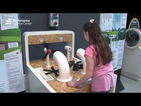 Exhibition Renewable Energy Sources - Techmania Science Center, Pilsen, Czech Republic