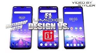 UMIDIGI F1 vs. One Max vs. OnePlus 6T | Waterdrop/Design Comparison | AnTuTu score?