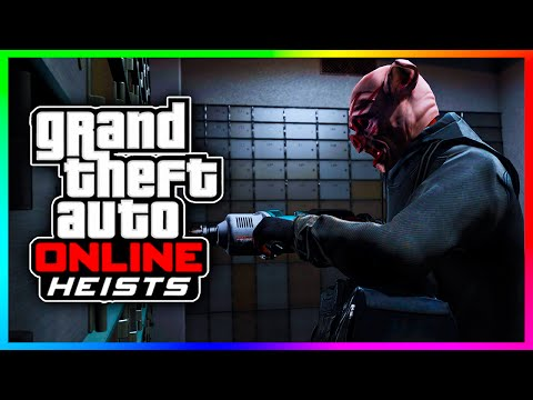 GTA 5 Online Heist Team Gear Packs - Thermite Bomb, Flare Gun, Bank Heist Drills & MORE! (GTA V)