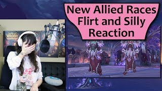 7.3.5 Allied Race Flirt and Silly VO Reaction!