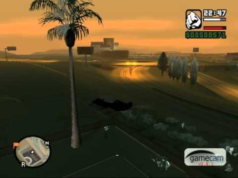 GTA San Andreas- snow mod