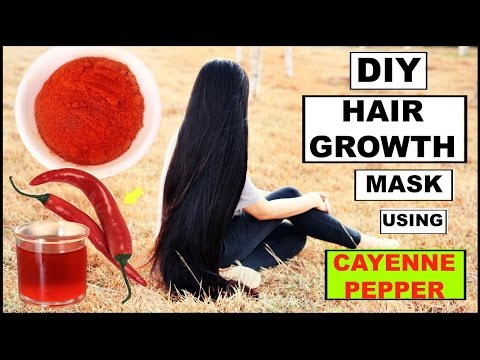 DIY Cayenne Pepper For Faster Hair Growth-Thicker Hair & Reducing Hair Fall-Beautyklove