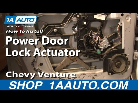 How To Install Replace Power Door Lock Actuator Chevy Venture Pontiac Montana 97-05 1AAuto.com