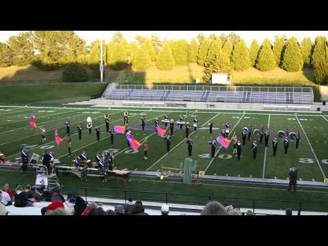 Wisconsin Lutheran High School Marching Band 2011 State Performance - Rawhide!