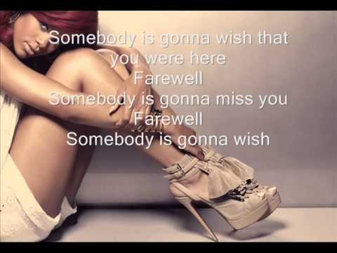 Rihanna - Farewell [official Lyric Video] video