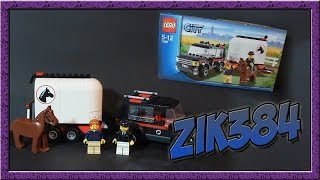 Lego 7635 4WD with Horse Trailer Review Лего обзор