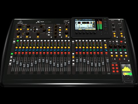 Clase de Sonido VIDEO 11 - La extructura de la Behringer Digital X32 powered by Midas