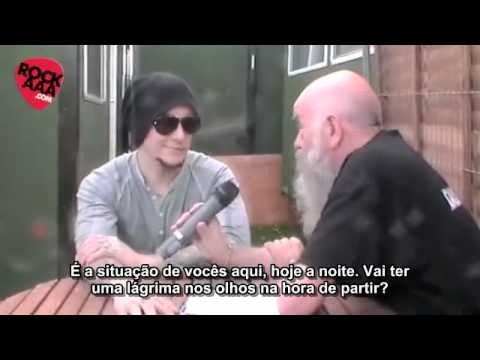 Synyster Gates em entrevista no Download Festival (Legendado)