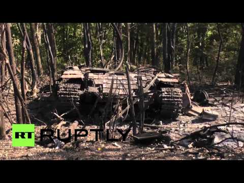 Ukraine: These govt tanks couldn't escape DPR militia