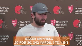 Baker Mayfield on social media feud with Antonio Brown: 'If you don't wear orange and brown, you don