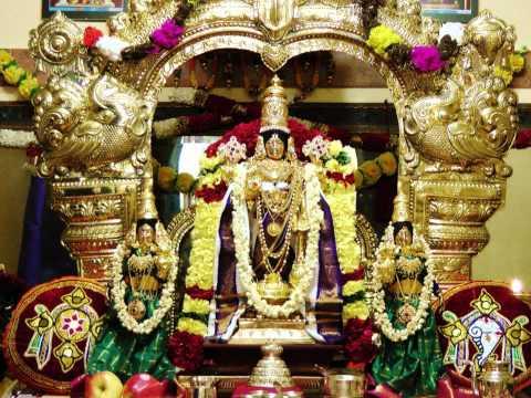 Medieval Sanskrit Hymn Glorifying Lord Vishnu & Sri Krishna-...