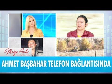 Ahmet Başbahar telefon bağlantısında - Müge Anlı İle Tatlı Sert 13 Kasım