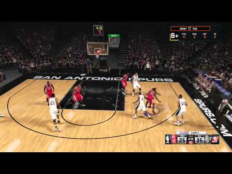 PRESSURE FILLED GAME 5! Tim Duncan Returns! WCQF vs Spurs -NBA 2K15 My Career Gameplay