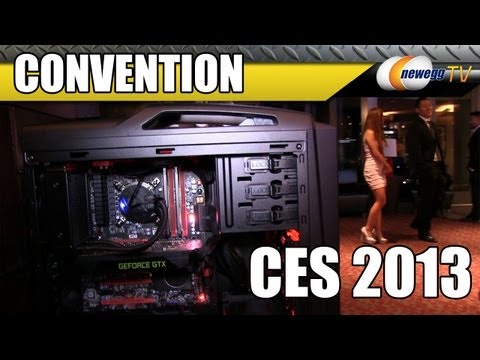 Newegg TV @ CES 2013 with Cooler Master Part 1 - New Cases, PSUs, Air & Liquid CPU Coolers