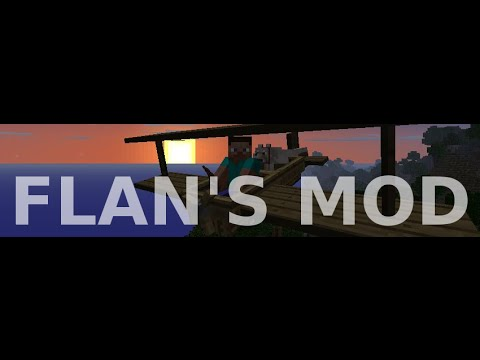 Minecraft 1.7.2   Review e Instalación de Mods   FLAN'S MOD