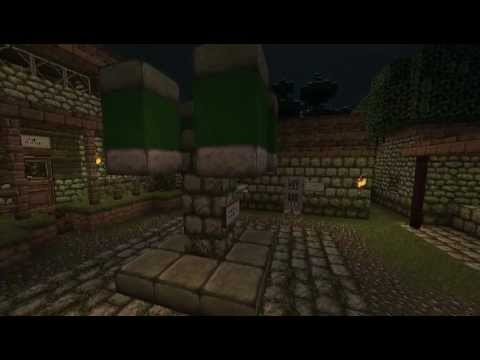 Legacy of Dead Wizard [Minecraft quest] [trailer]