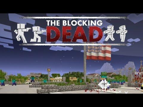 Minecraft: THE BLOCKING DEAD w/ Docm77 & ZipKrowd