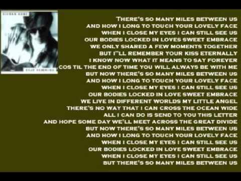 Kieran Kane - So Many Miles ( + lyrics 1995)
