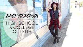 Back to School High School & College Outfits | MichelleHNguyen