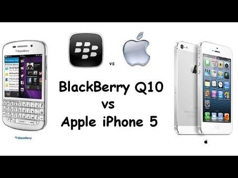 BlackBerry Q10 vs Apple iPhone 5   Specs Comparison