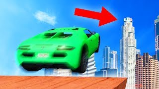 INSANE MAZE BANK JUMP CHALLENGE! (GTA 5 Funny Moments)