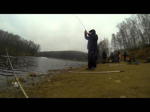 спиннинг для ловли форели на озере