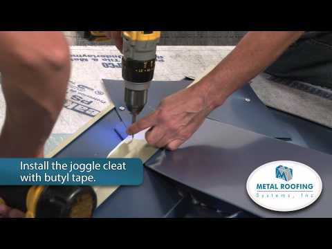 How To Flash Metal Roofing Systems Ridge To Valley Youtube