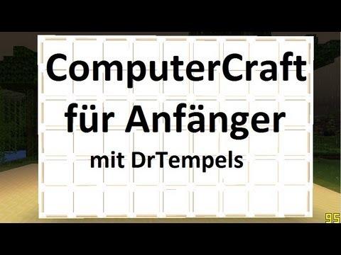 ComputerCraft Tutorial für Anfänger #1: Computer, Die ersten Befehle | Deutsch / German