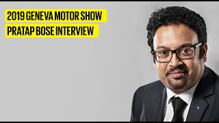 Pratap Bose - VP Global Design, Tata Motors | Geneva Motor Show 2019 | Autocar India