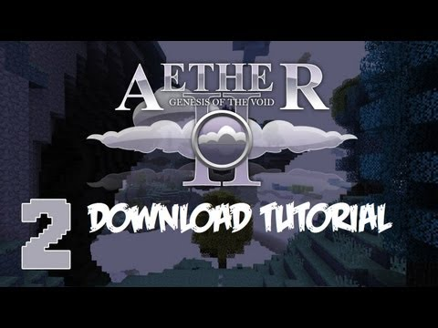 How to Download the Aether Mod with Minecraft 1.5.1/1.5.2 (EASY)  (Latest Version)