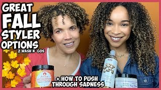 FALL WASH N' GO OPTIONS + PUSHING THROUGH SADNESS