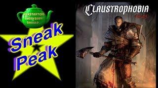 Sneak Peak at Claustrophobia 1643 prototype