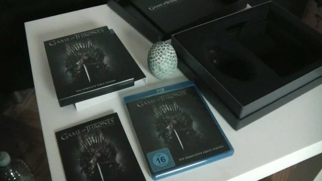 The Game Blu Ray Game of Thrones Staffel 1 Blu