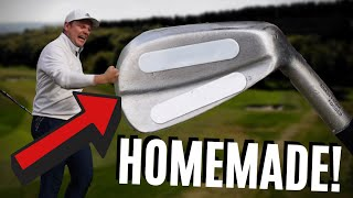 PLAYING GOLF WITH MY HOMEMADE IRONS... UNBELIEVABLE SCENES?!
