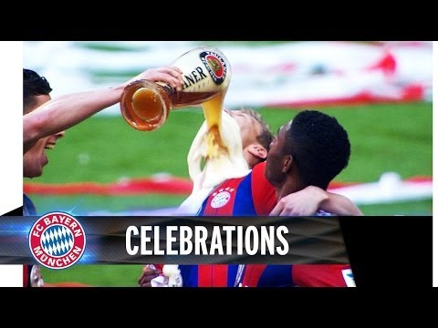 FC Bayern Title Celebrations 2014