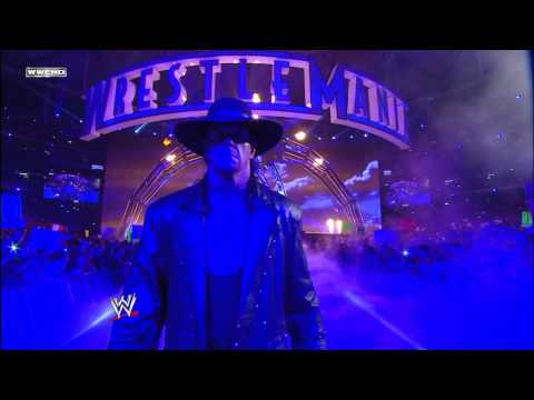 Undertaker Makes His Entrance: Wrestlemania 27 video